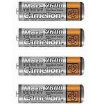Porovnat ceny Camelion AA tužkové NiMH 2600mAh 4 ks