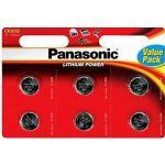 Porovnat ceny Panasonic CR2032 6 ks v blistri (cr-2032el/6bp)