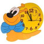 Porovnání ceny DoDo Dětské dřevěné hodiny - Šnek