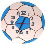 Porovnání ceny DoDo Dětské dřevěné hodiny - Modrý míč