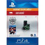 Porovnání ceny SONY 500 NHL 18 Points Pack - PS4 CZ Digital (SCEE-XX-S0033434)