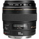 Porovnání ceny Canon EF 100 mm F2 USM (2518A019AA) + ZDARMA Kalkulačka Canon LS-100K zelená Čisticí utěrka Hama utěrka MICRO OPTIC-CLEANER