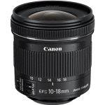 Porovnání ceny Canon EF-S 10-18mm f/4.5 - 5.6 IS STM (9519B005AA)