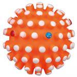 Porovnání ceny Hračka pro psy Trixie míček vinylový s bodlinami se zvukem 6cm