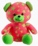Porovnání ceny TEDDIES Medvídek svítící ve tmě 21cm ružový/zelený plyš
