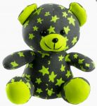Porovnání ceny TEDDIES Medvídek svítící ve tmě 21cm šedý/žlutý plyš