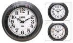 Porovnání ceny KAISERHOFFNástěnné hodiny kovové 43cm KO-197158