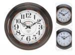 Porovnání ceny KAISERHOFFNastěnné hodiny kovové 43cm KO-922599
