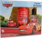 Porovnání ceny Disney® Cars Blesk McQueen Corine De Farme Cars toaletní voda pro děti 50 ml + sprchový gel 250 ml + klíčenka, dárková sada