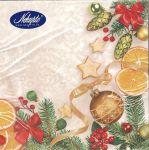 Porovnání ceny Nekupto Vánoční papírové ubrousky Bílé, vánoční motiv 33 x 33 cm 3 vrstvé 20 kusů 061 02
