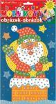 Porovnání ceny Ozdoby, dekorace, tvorba Mozaikový hrací set Vánoce Santa v komíně 23 x 16 cm