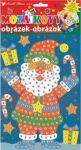 Porovnání ceny Ozdoby, dekorace, tvorba Mozaikový hrací set Vánoce Santa v botech 23 x 16 cm