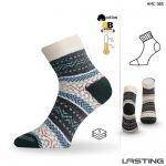 Porovnání ceny HMC zimní trekové ponožky Lasting modrá L