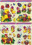 Porovnání ceny Anděl Přerov Okenní fólie kuřátka - 4 motivy 42 x 30 cm - SET POSLEDNÍ KUS