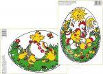 Porovnání ceny Anděl Přerov Okenní fólie 2 motivy vejce 33x23 cm - POSLEDNÍ SET