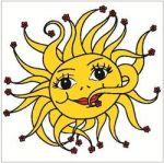 Porovnání ceny Anděl Přerov Okenní fólie sluníčko 33x35 cm