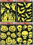 Porovnání ceny Anděl Přerov Okenní fólie Strašidla svítící ve tmě na černém podkladu set