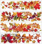 Porovnání ceny Anděl Přerov Okenní fólie pruh s podzimním listím set