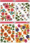 Porovnání ceny Anděl Přerov Okenní fólie rohová květinová 4 motivy 37x26cm set