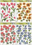 Porovnání ceny Anděl Přerov Okenní fólie 4 druhy květin 42x30cm set