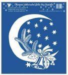 Porovnání ceny Anděl Přerov Okenní fólie Měsíc s větvičkou bílá 23x20 cm