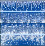 Porovnání ceny Anděl Přerov Okenní fólie pruh Ledové květy, rampouchy s duhovými glitry set