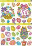 Porovnání ceny Anděl Přerov Okenní fólie Velikonoční - 4 motivy 42 x 30 cm hologramová - SET