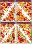 Porovnání ceny Anděl Přerov Okenní fólie rohová 38x30 cm, podzimní listí SET