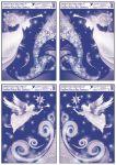 Porovnání ceny Anděl Přerov Okenní fólie rohová s glitrem anděl set