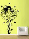 Porovnání ceny Shopnisi Samolepka na zeď Žena jako strom s motýlky