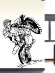 Porovnání ceny Shopnisi Samolepka na zeď Motocross 2