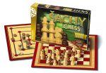 Porovnat ceny Šachy, dáma, mlyn - drevené Bonaparte