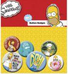 Porovnat ceny GB eye Odznak Simpsons Pin Badges 6-Pack Homer