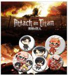 Porovnat ceny GB eye Odznak Attack on Titan Pin Badges 6-Pack Mix 2