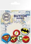 Porovnat ceny GB eye Odznak DC Comics Pin Badges 6-Pack Logos
