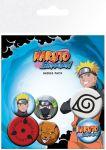 Porovnat ceny GB eye Odznak Naruto Shippuden Pin Badges 6-Pack Mix