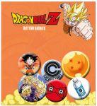 Porovnat ceny GB eye Odznak Dragonball Z Pin Badges 6-Pack Mix 1