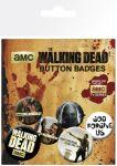 Porovnat ceny GB eye Odznak Walking Dead Pin Badges 6-Pack Mix