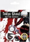 Porovnat ceny GB eye Odznak Tokyo Ghoul Pin Badges 6-Pack Mix