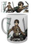 Porovnat ceny GB eye Šálka Attack on Titan Season 2 Mug Eren Duo