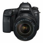 Porovnání ceny Canon 6D Mark II + EF24-105 IS STM + dárek Canon objektiv a blesk