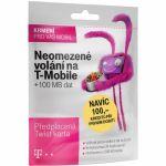 Porovnání ceny T-Mobile SIM s kreditem T-mobile Twist V síti 200 Kč kredit (719100)
