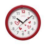 Porovnání ceny Dětské červené netikající tiché hodiny JVD HP612.D3 s tichým chodem