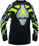 Porovnání ceny Motokrosový dres ALIAS MX A1 černo/neonově žlutý 2120-350 XL