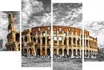 Porovnání ceny EVK Obraz koloseum 4 díly; xxl; rám modern 2mm