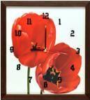 Porovnání ceny EVK Nástěnné hodiny Tulipány