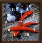 Porovnání ceny EVK Nástěnné hodiny papričky