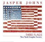 Porovnání ceny Dantik Reprodukce obrazu 72 x 66 / Three Flags ( Johns Jasper ) + záruka 3 roky