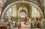 Porovnání ceny Dantik Reprodukce obrazu 90 x 60 / La scuola di Atene ( Raffael ) + záruka 3 roky
