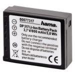 Porovnání ceny Hama Fotoakumulátor Li-Ion 3,7V/800mAh, Panasonic CGA-S007E; 77317